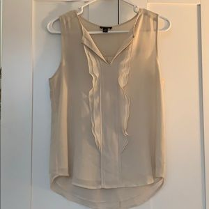 Cream Ann Taylor Blouse